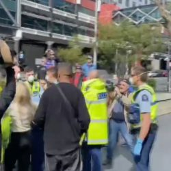 Auckland lockdown protest